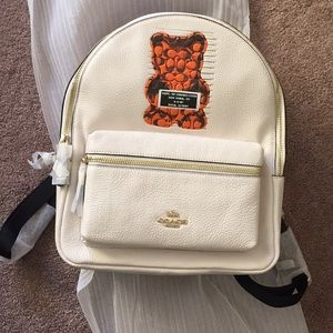 NWT Coach Gunmy Bear Medium Charlie Backpack